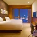 高級ホテル,セックス,立ちバック,夜景